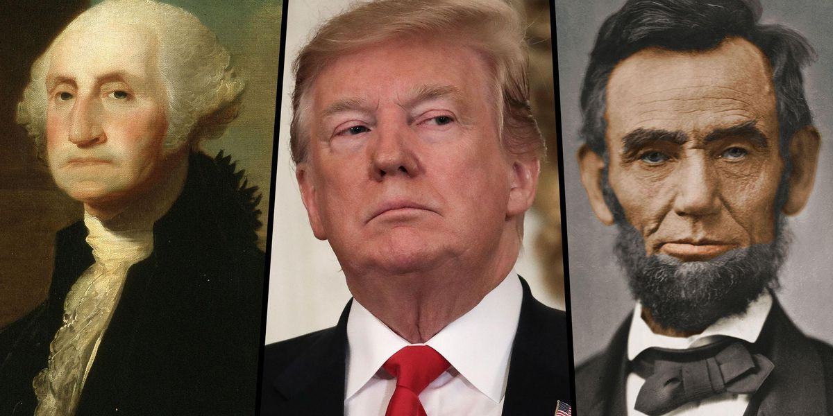 Donald Trump Says He Could Beat Abraham Lincoln and George Washington in an Election