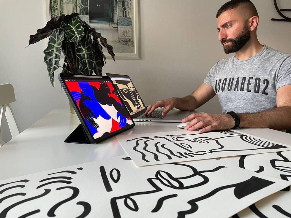 Who is Damiano Clemente, the artist behind DSQUARED²