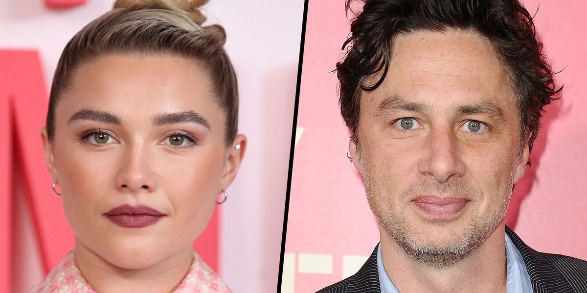 Florence Pugh Says Relationship With Zach Braff Bothers People Because It's 'Not Who They Expected'