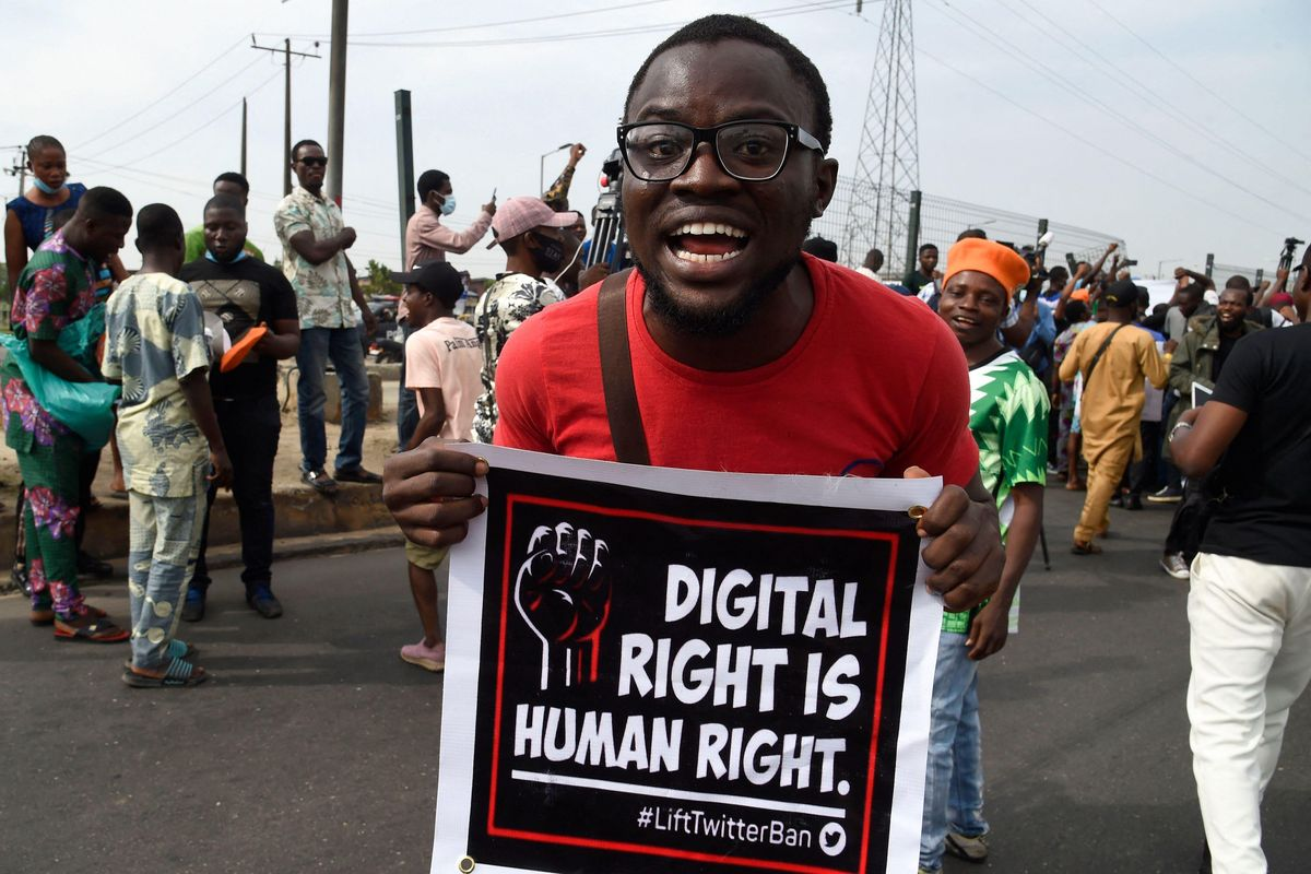 <div>Nigeria's Twitter Ban Threatens The Country'sSocial Activism</div>