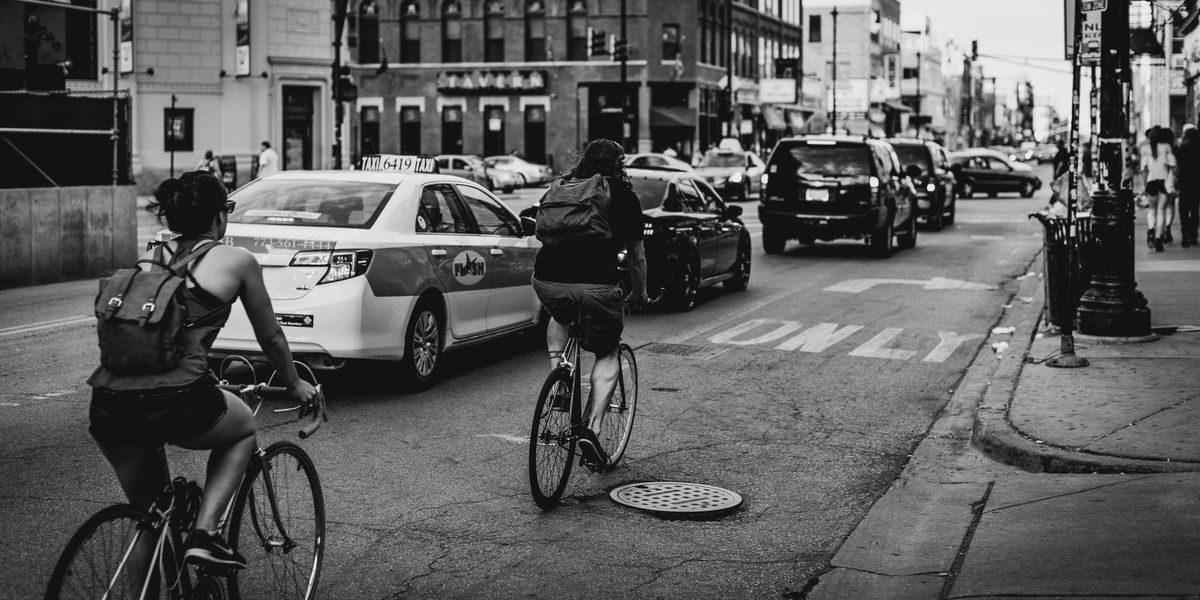 bicycle commuters safer roads