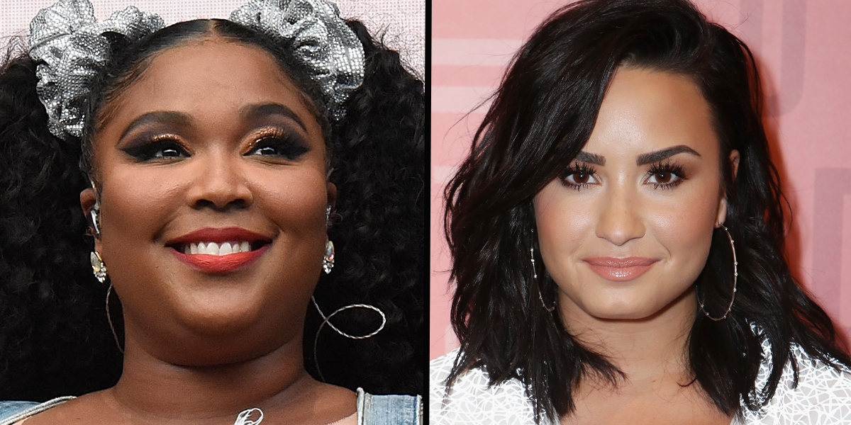 Lizzo Corrected a Photographer Who Misgendered Demi Lovato