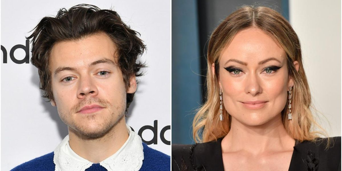 Harry Styles and Olivia Wilde Spotted Kissing on Yacht