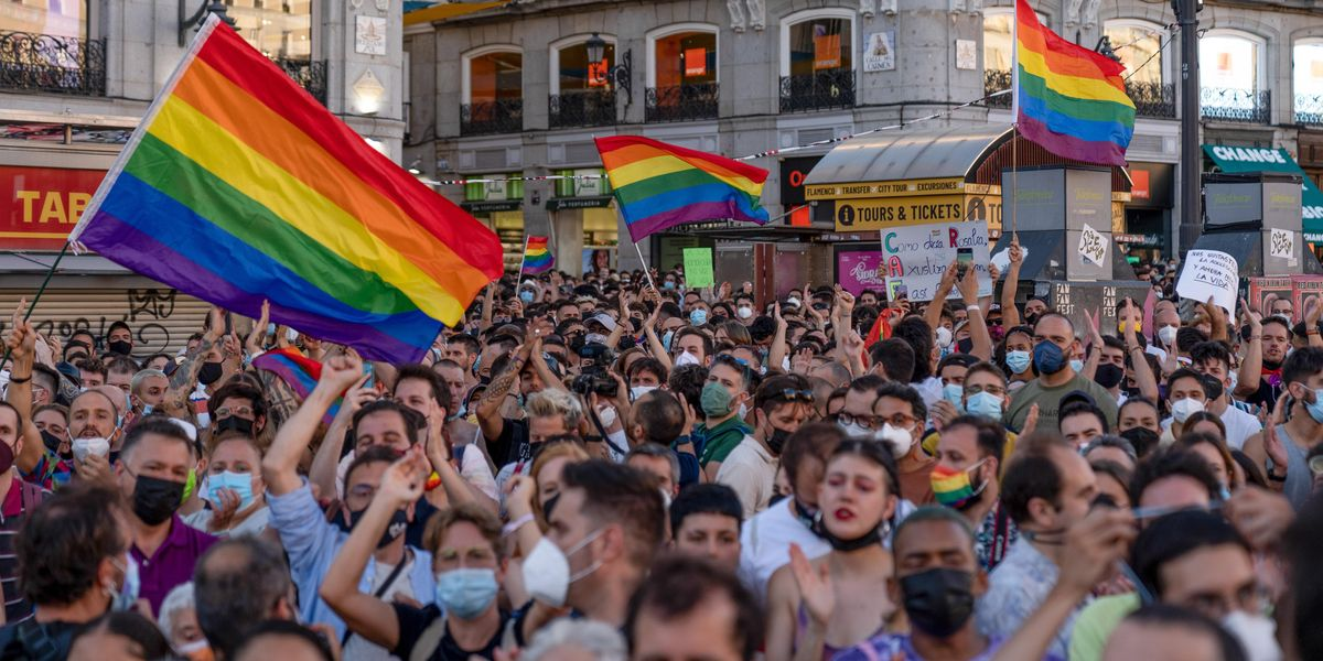Suspected LGBTQ Hate Crime Sparks Mass Protests in Spain