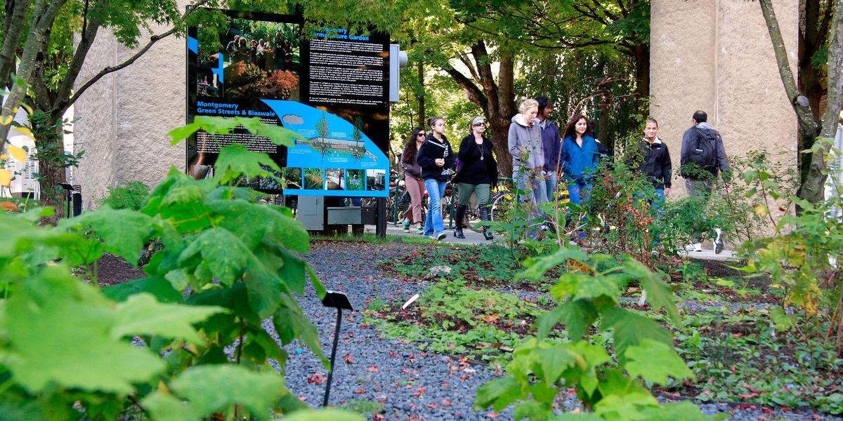 Portland Oregon green space environment