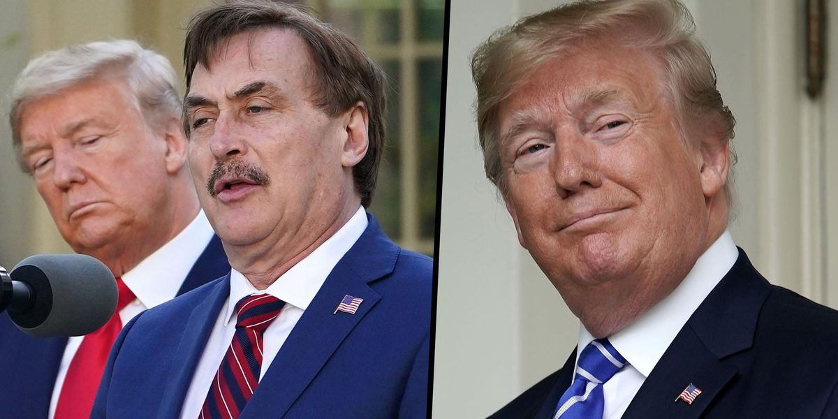 'My Pillow Guy' Mike Lindell Believes Trump Will Be Reinstated as President on August 13th