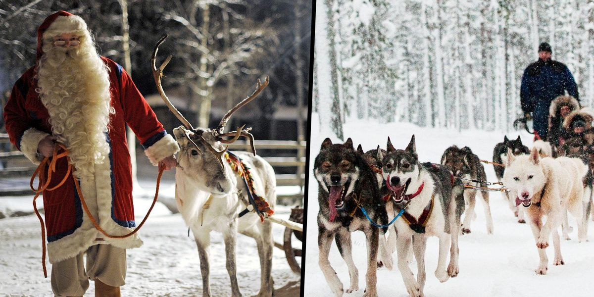 Santa Claus' Alleged Hometown Lapland Recorded Its Highest Temperature Since 1914
