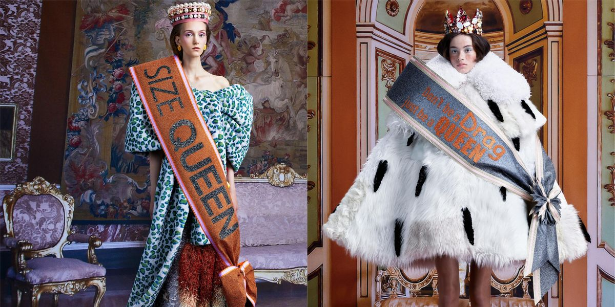 Viktor & Rolf's New Couture Collection Is Iconic Queen Behavior