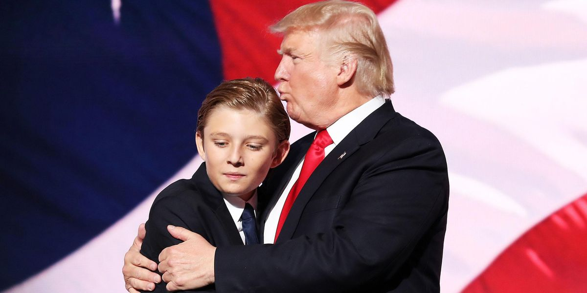 Copy of Barron Trump Called 'A Beast' After New Pictures Surface