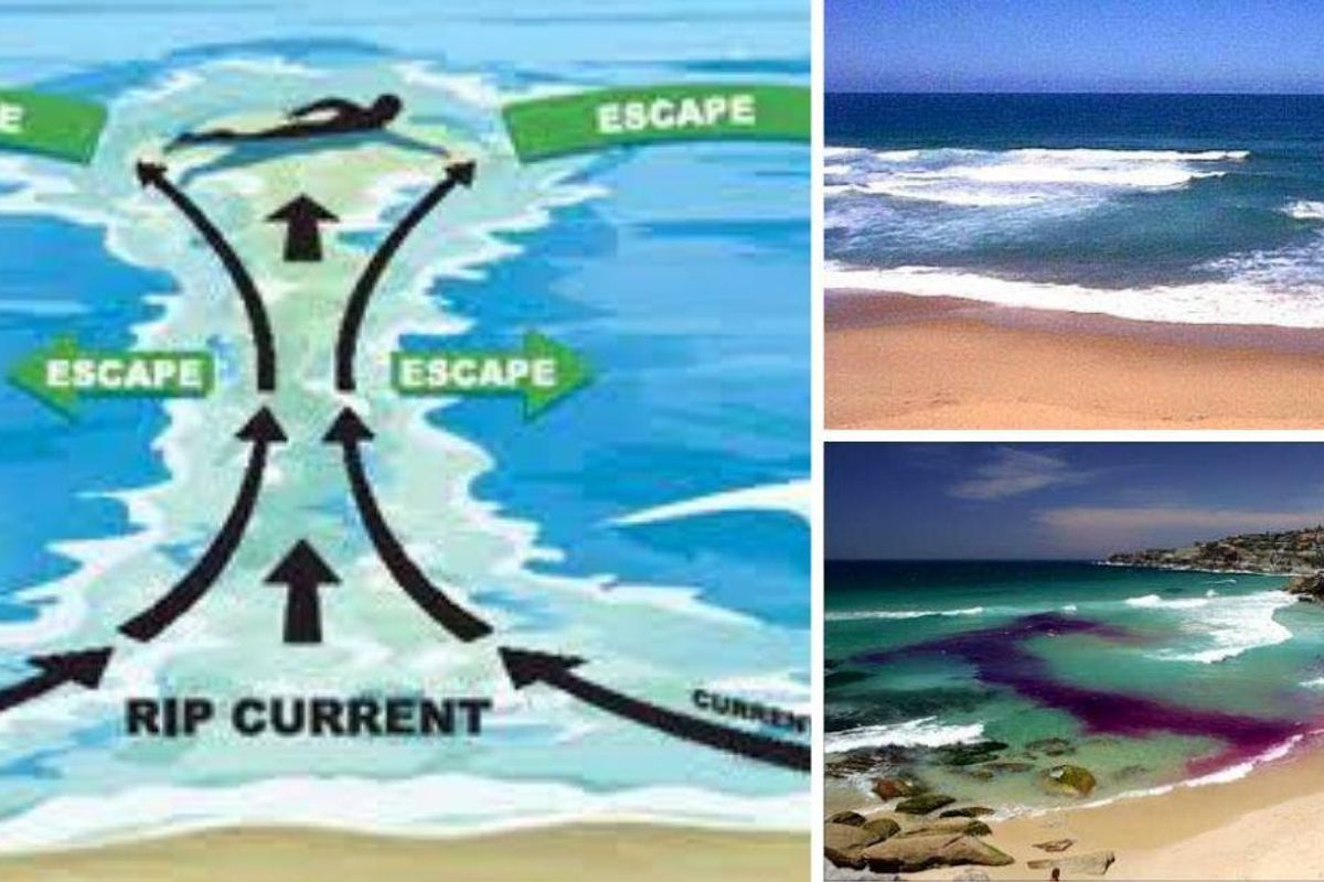 This surf rescuer's lesson on how to spot a rip current could literally save your life
