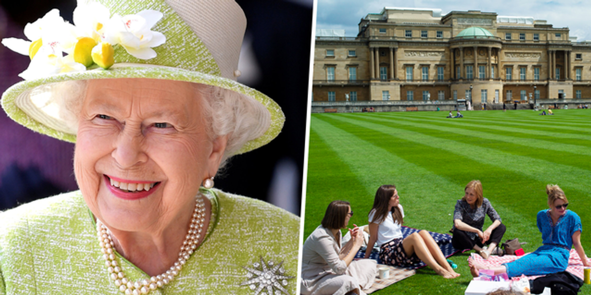 The Queen Opens Her Lawn to Picnics for the First Time