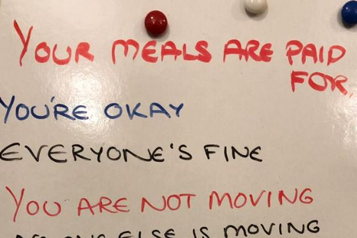 Doctor shares 'dementia whiteboard' daughter wrote for mother