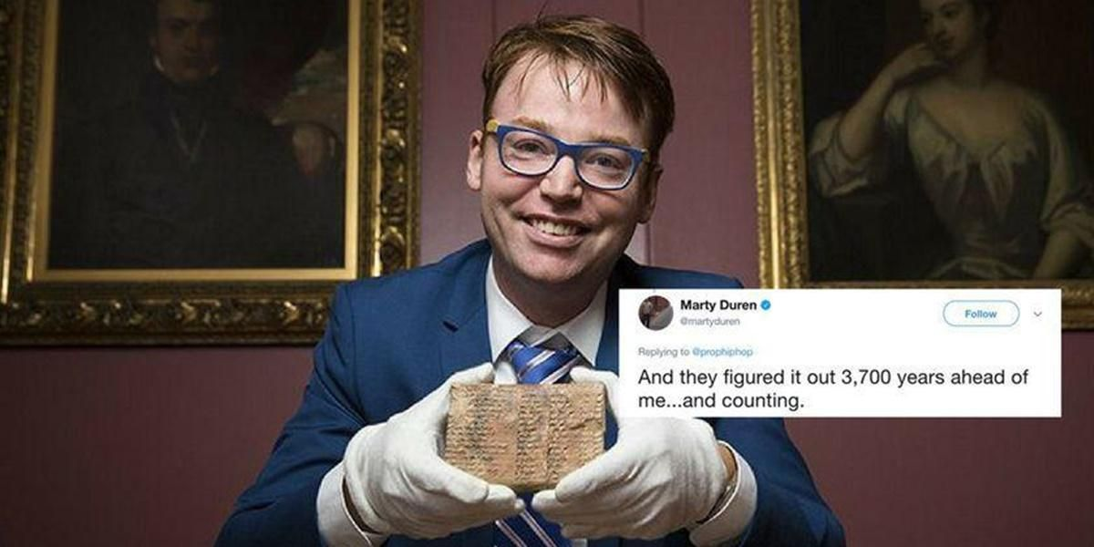 3,700-year-old Babylonian stone tablet gets translated, changes history