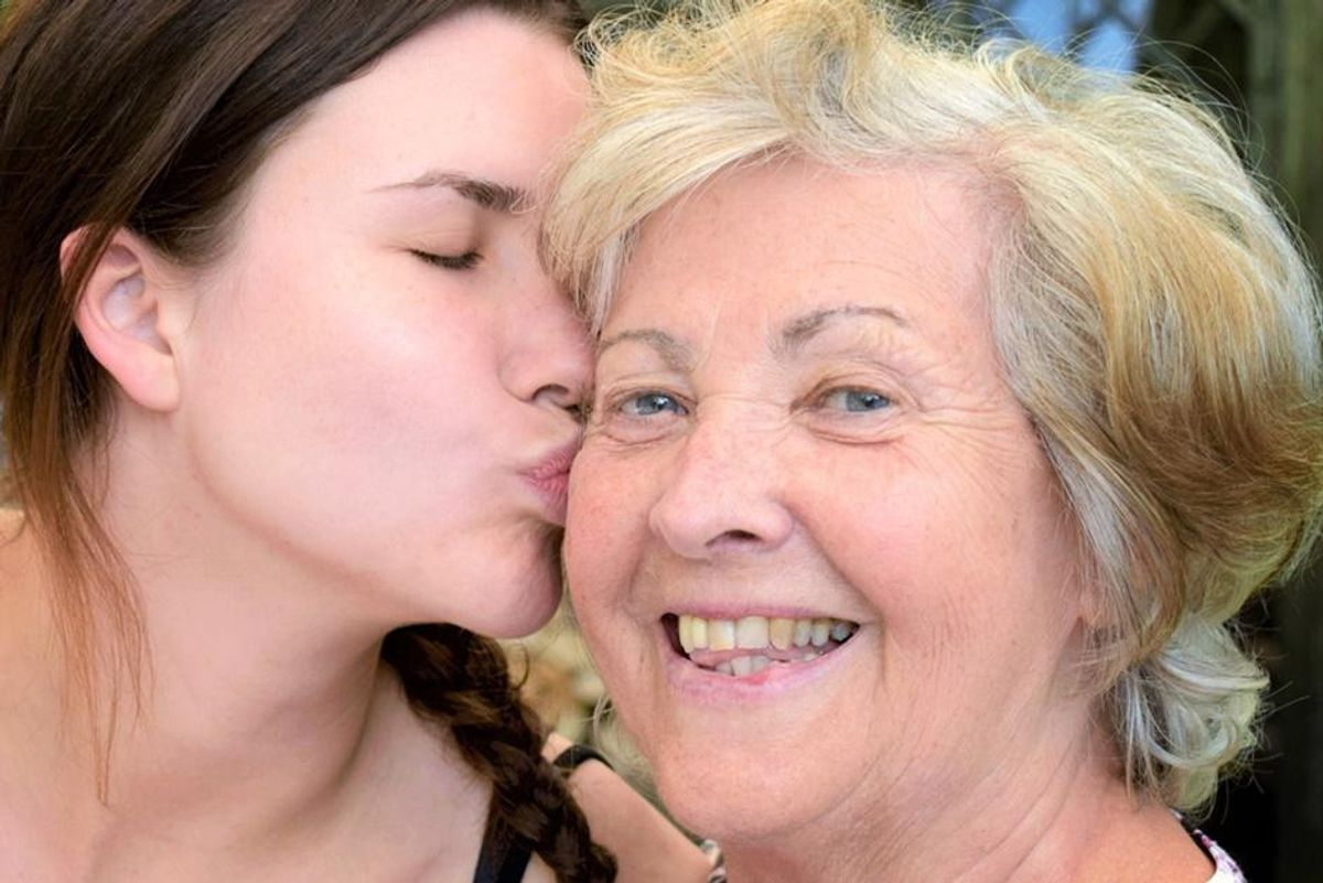 Want your mom to live longer? Study shows she will if you spend time with her.