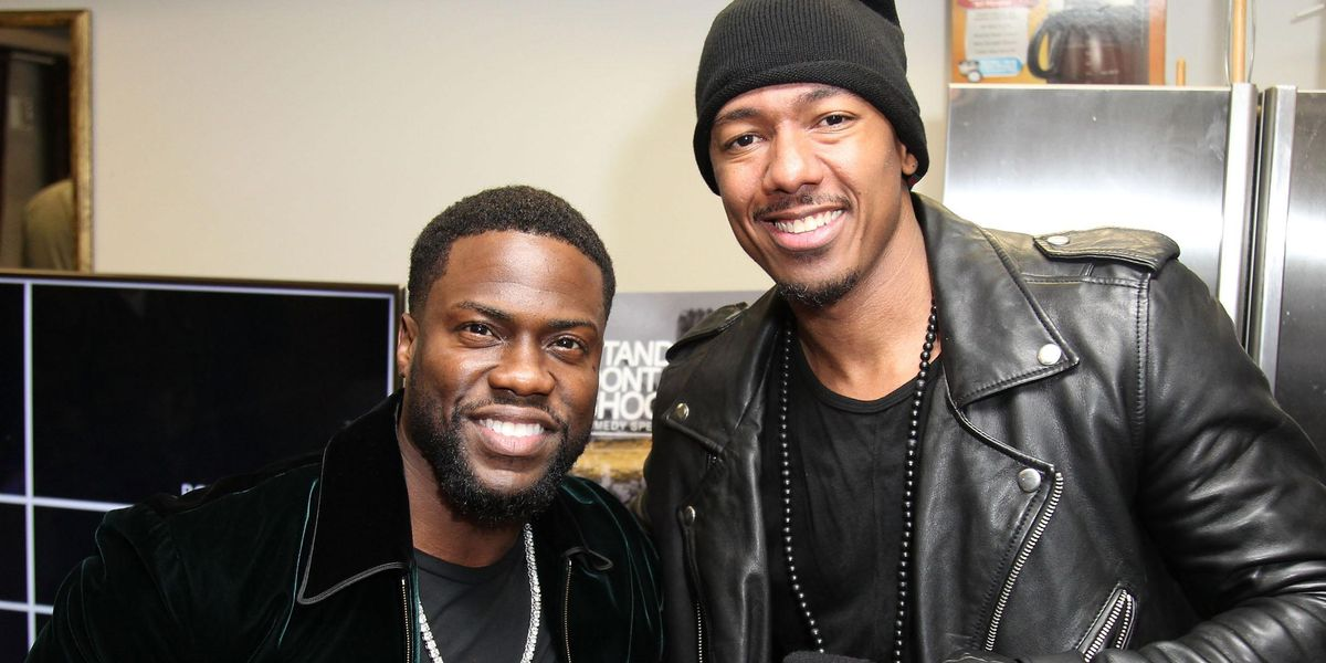 Kevin Hart Blasts Nick Cannon's Number on Billboards for Anyone Needing 'Advice on Fatherhood'