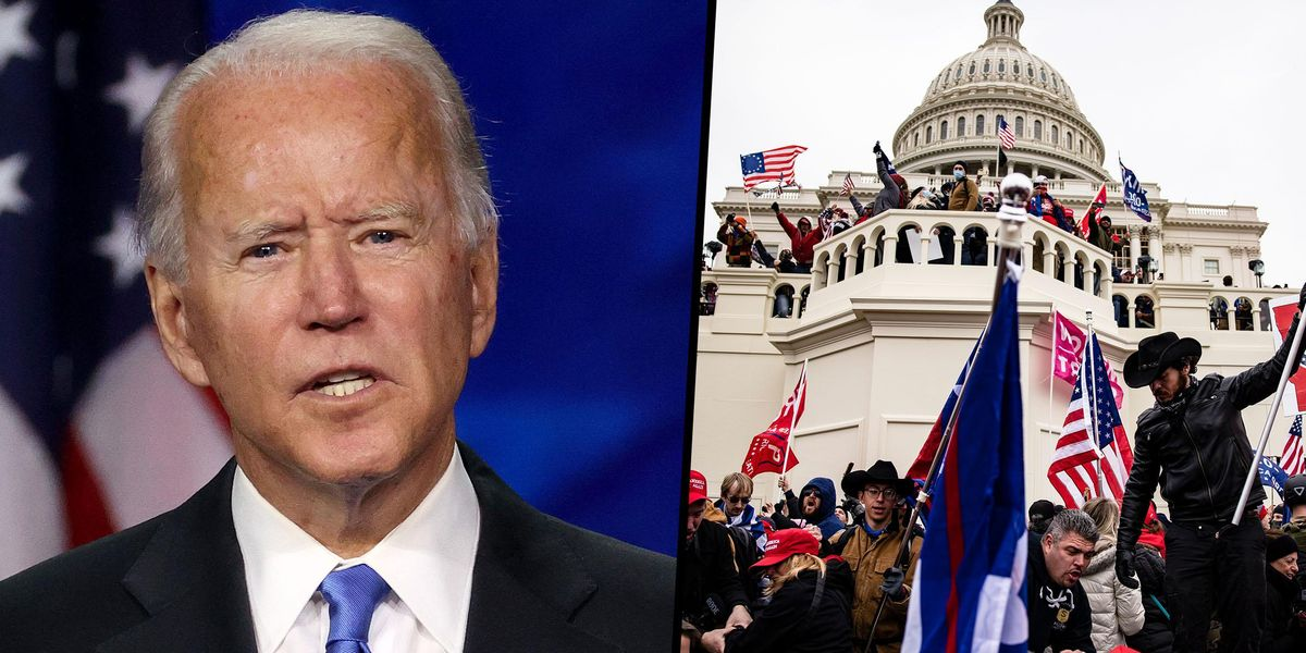 Joe Biden Says 'You Can't Look At That Television and Say Nothing Happened On the 6th'