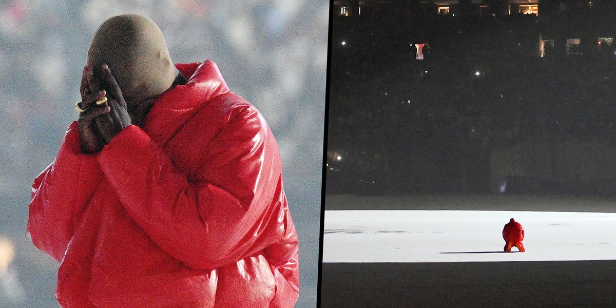 Kanye West Breaks Down in Tears in Front of 40,000 Fans as He Says He's 'Losing His Family'