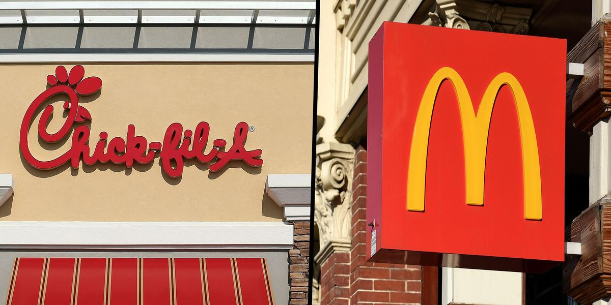 Chick-Fil-a Ranked America's Favorite Fast Food Place As McDonald's Gets Dead Last