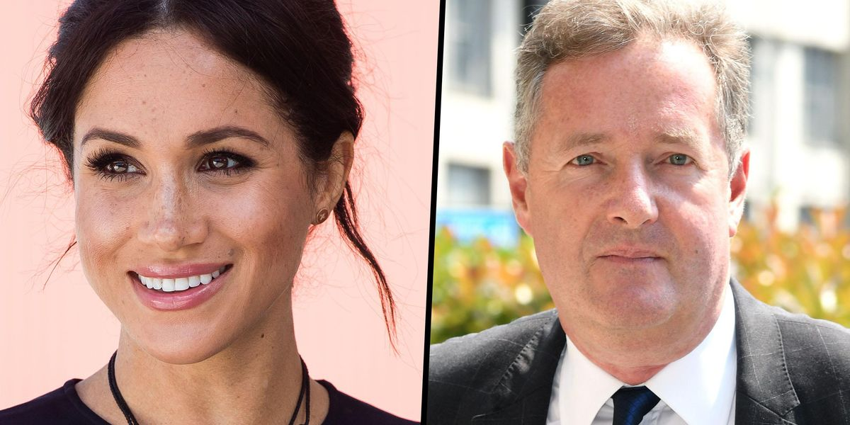 Piers Morgan Doubles Down on Refusal To Apologize to Meghan Markle