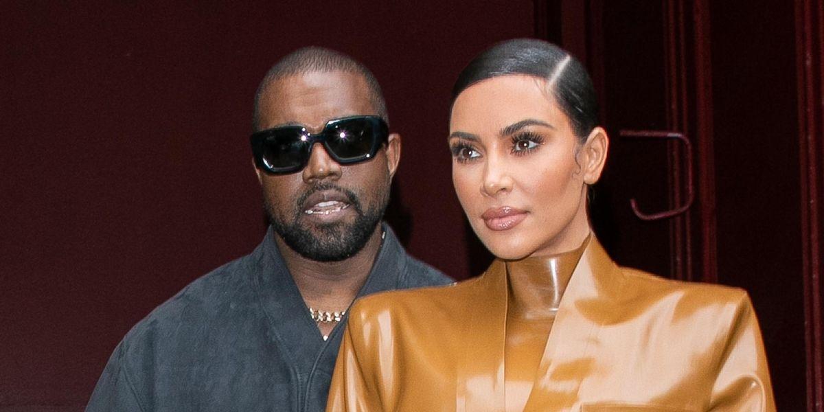 Kim Supports Kanye at 'DONDA' Listening Party