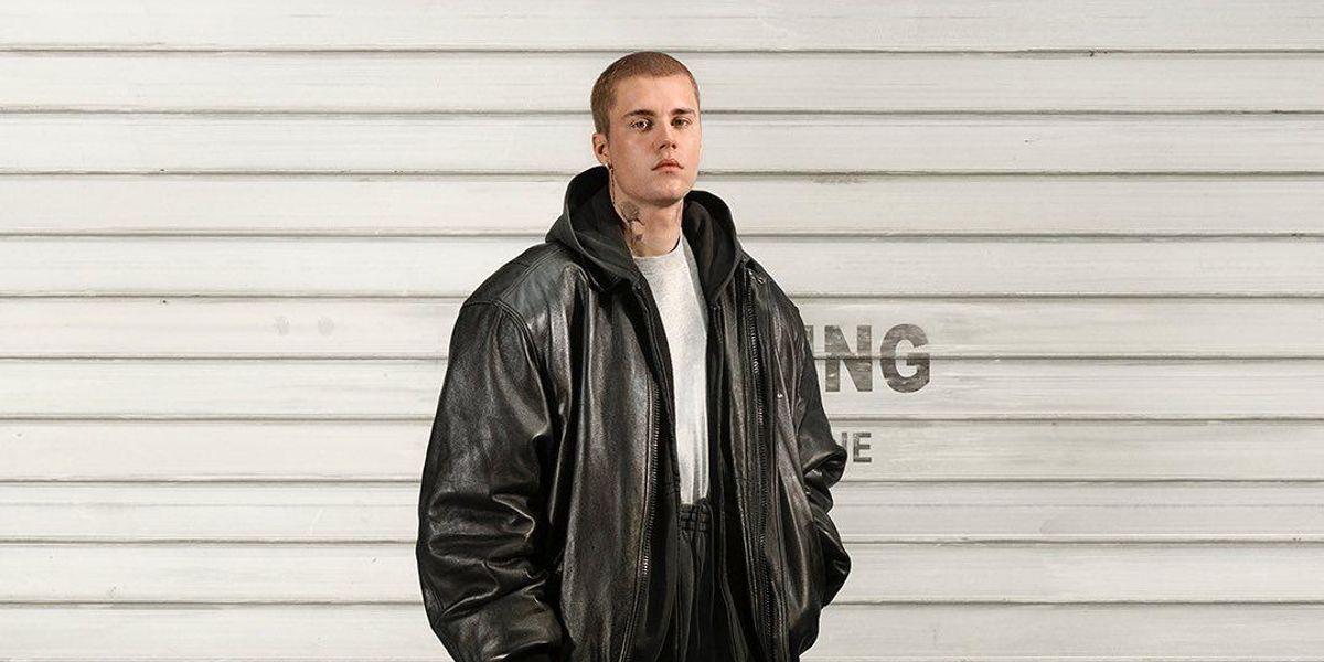 Justin Bieber Models Balenciaga's 'City' Bag