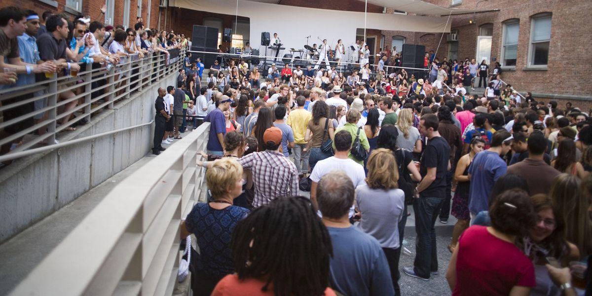 MoMA PS1 Warm Up Is Back