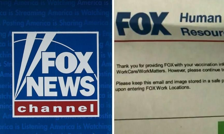 Fox News Called Out After Their Employee Vaccination Passport System Goes Public