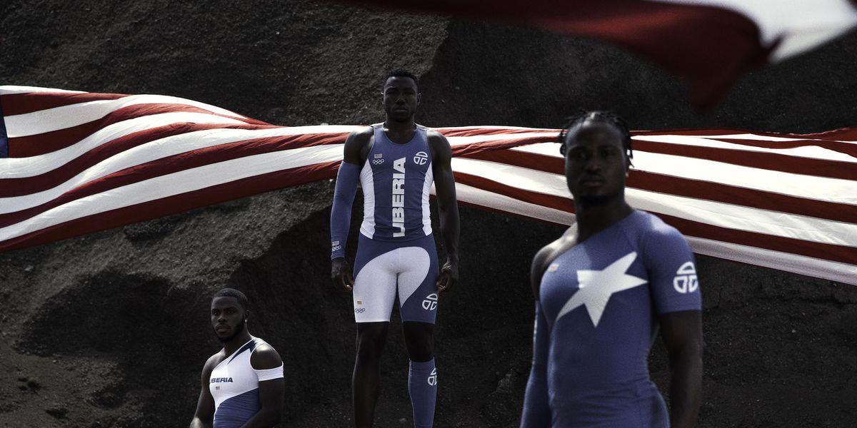 Telfar Designed Team Liberia's Outfits for the 2021 Olympics