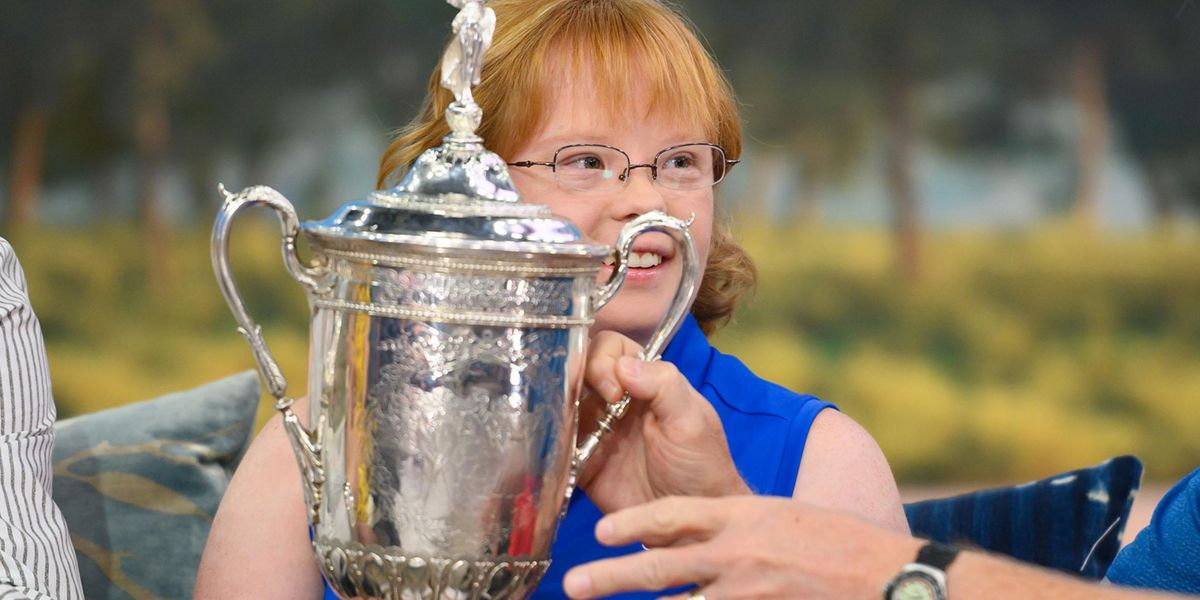 Amy Bockerstette Is the First Athlete With Down's Syndrome To Compete at a National College Championship