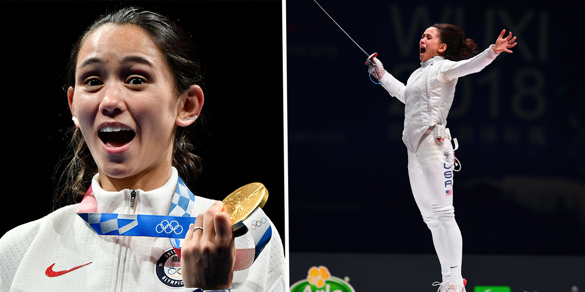 Lee Kiefer Practically Floated on Air After Winning USA's First Ever Individual Foil Medal