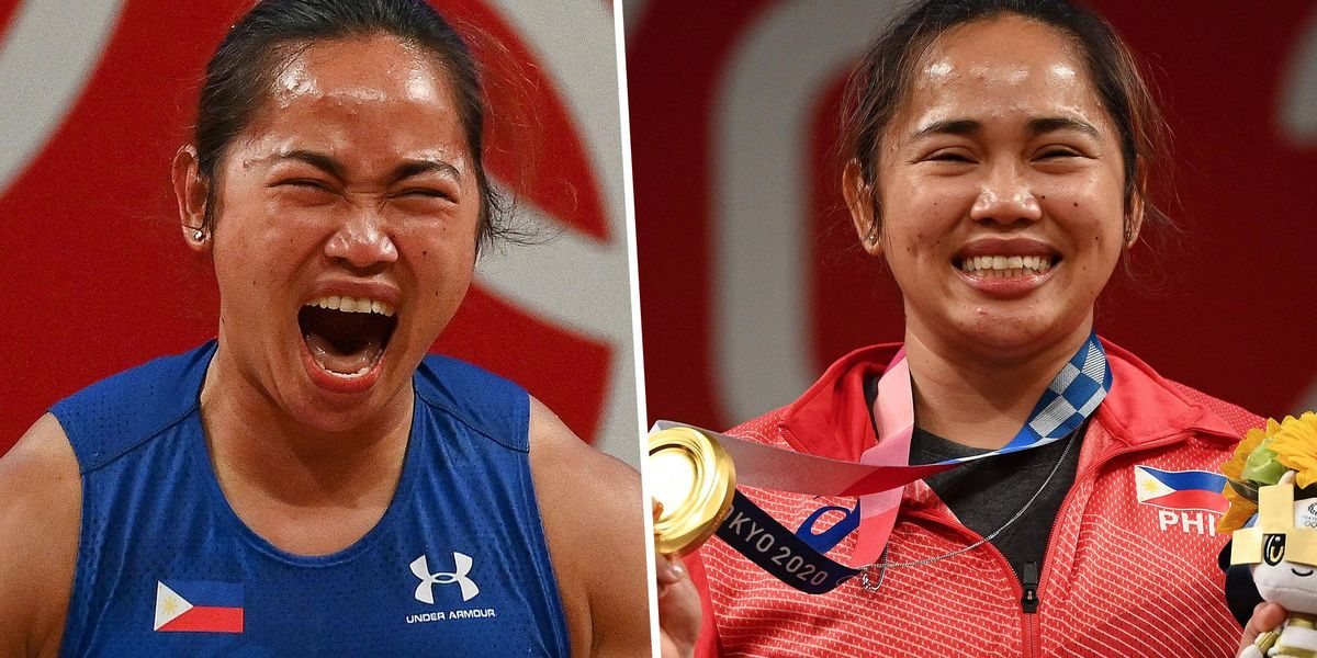 Weightlifter Wins The Philippines' First Ever Gold Medal After Nearly 100 Years