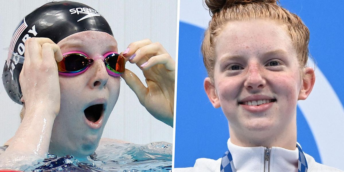 17-Year-Old Lydia Jacoby Becomes First Woman To Strike Gold for Team USA at the Tokyo Olympics