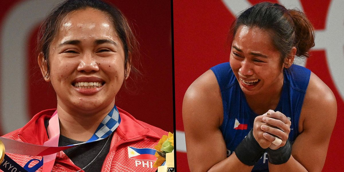 Weightlifter Broke Down and Said She Planned to 'Eat a Lot' After Winning Philippines' First-Ever Gold Medal