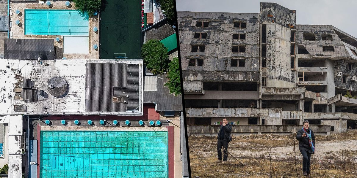 Shocking Images Show Abandoned Olympic Venues Around the World