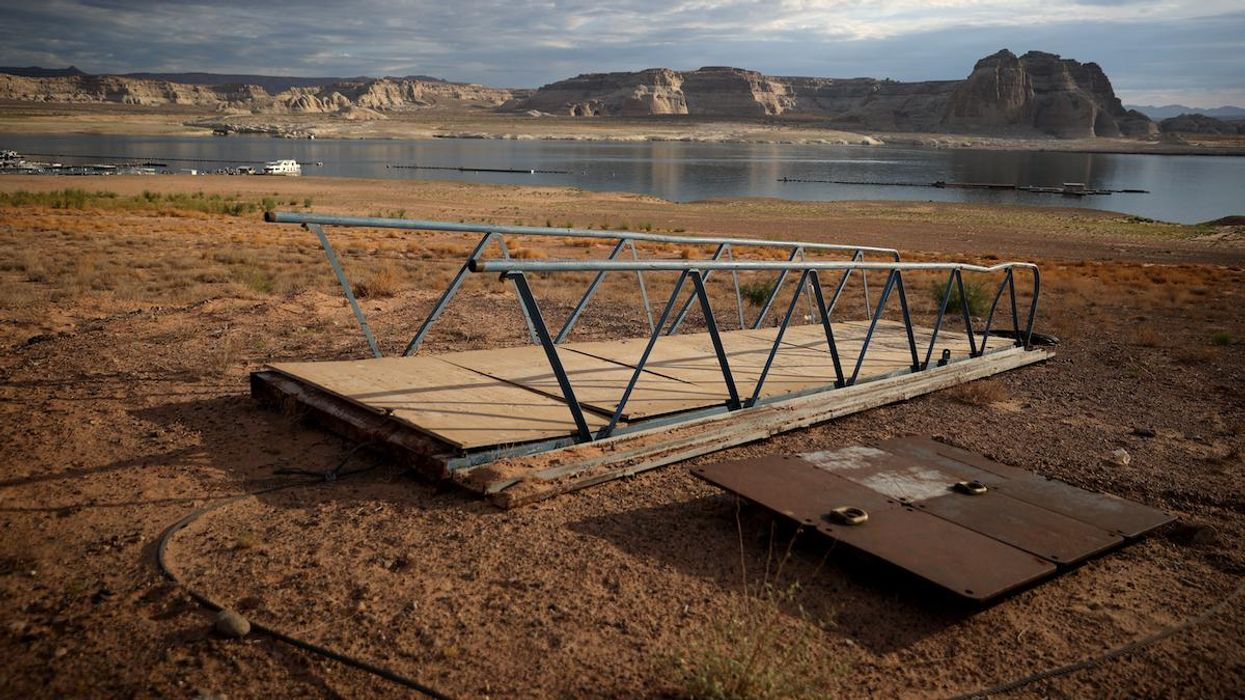 Lake Powell Water Levels Fall to Lowest on Record