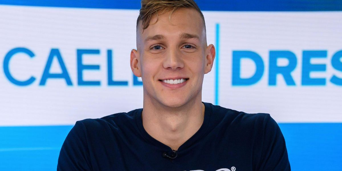US Swimmer Caeleb Dressel Tossed His Relay Gold Medal to a Teammate Who Didn't Get To Swim in the Final