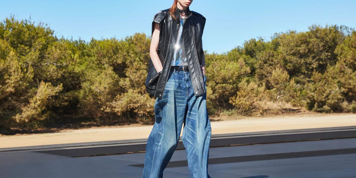 Even Hedi Slimane Is Jumping on the Baggy Jean Trend