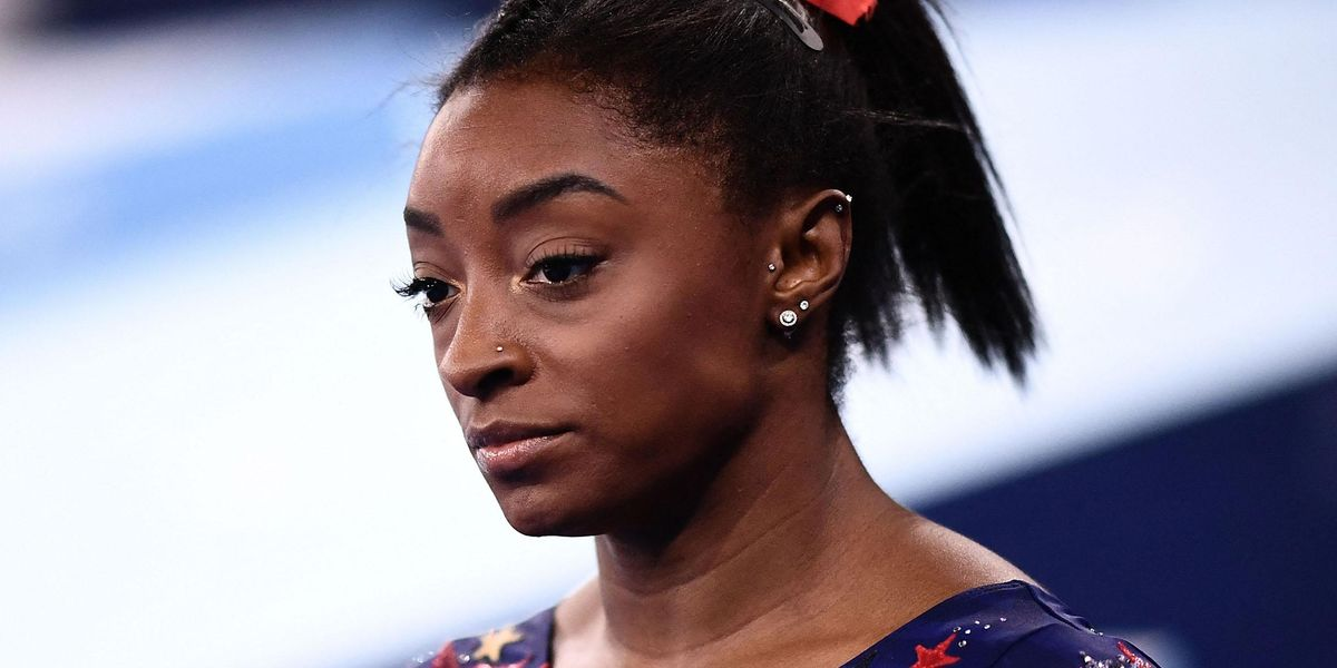 What Simone Biles Did After Being Pulled From Olympic Final Is Getting the Most Attention