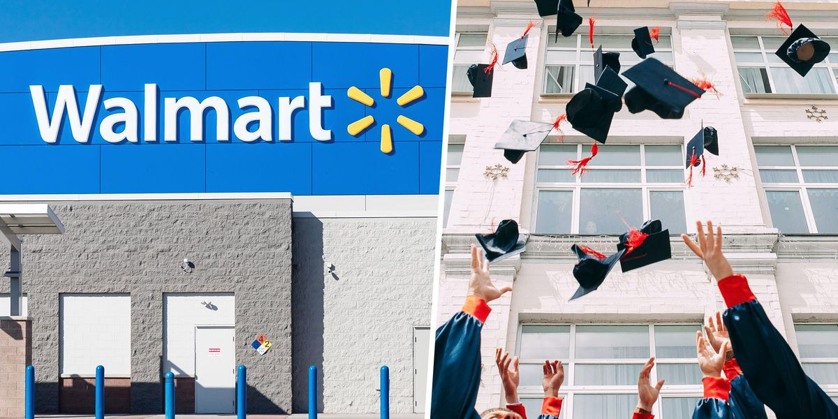 Walmart Will Cover 100% Of College Tuition for Its Full and Part-Time Workers