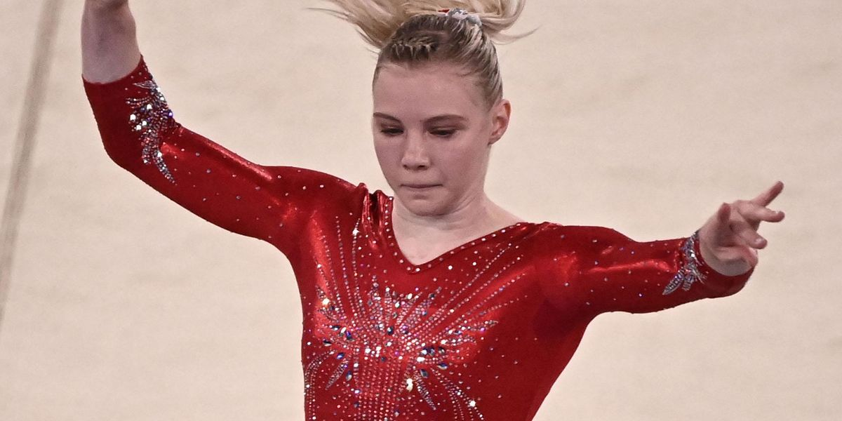 Jade Carey Steps in for Simone Biles After She Drops Out of Solo Event