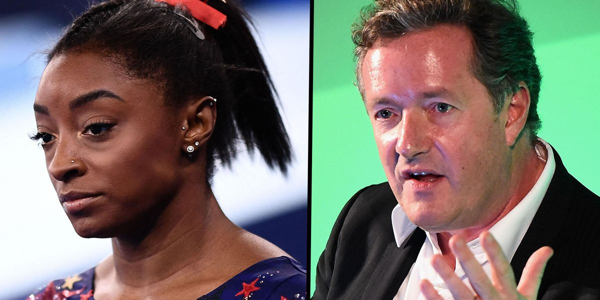 Piers Morgan Slammed for Saying Simone Biles 'Let the Country Down'