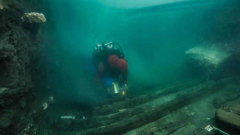 Ancient Greek military ship found in legendary, submerged Egyptian city