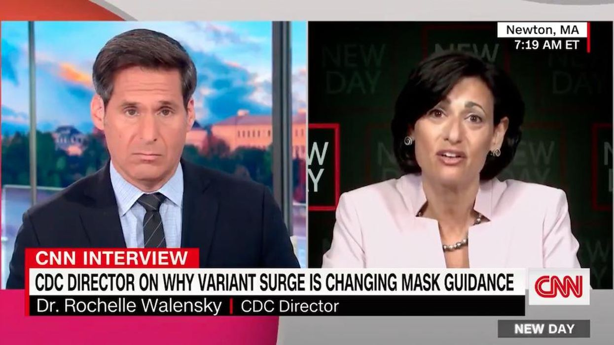 CNN host pushes back on CDC director's call for vaccinated people to mask up: 'Why the hell do I have to pay the price for this?'