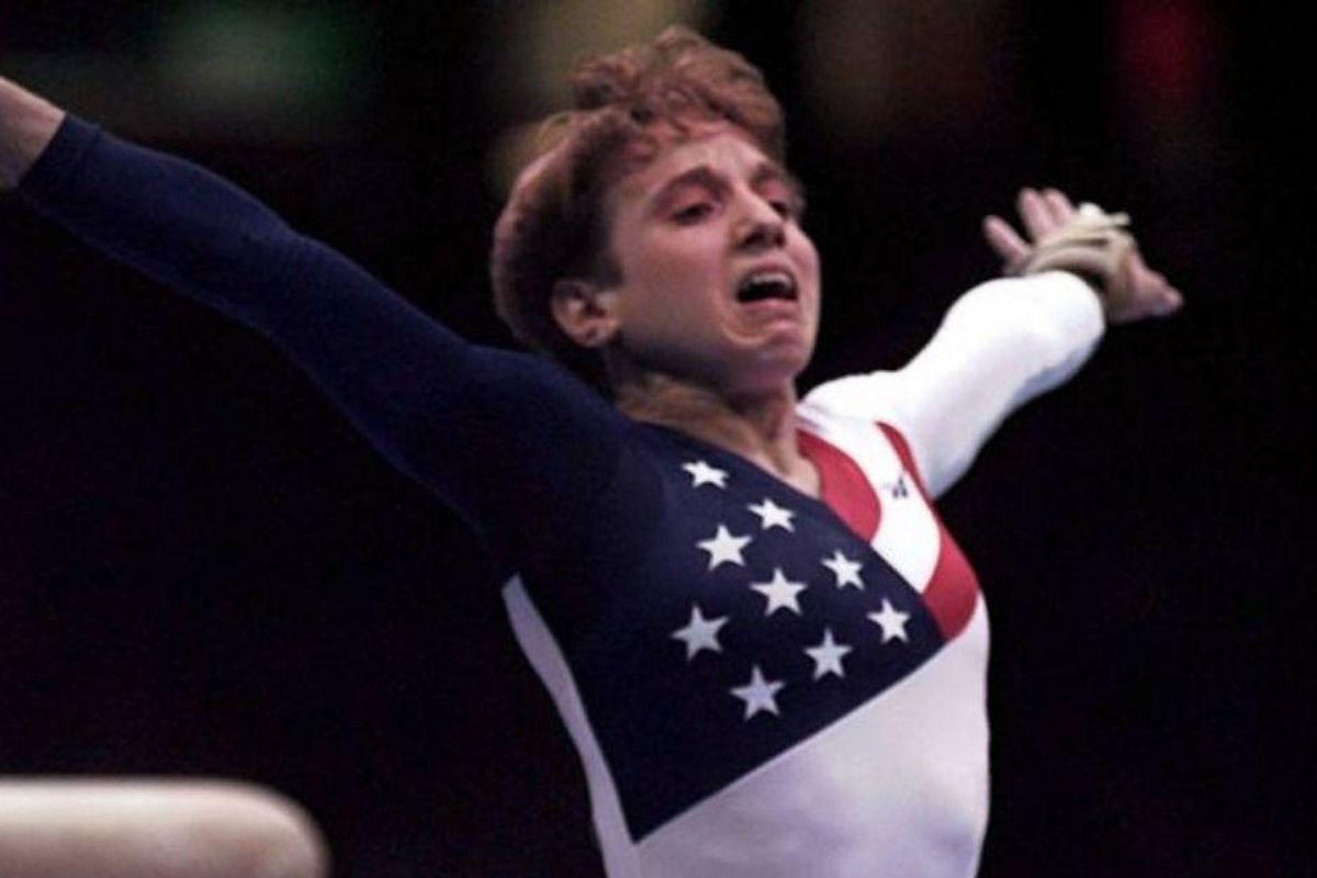Viral post thoughtfully reexamines Kerri Strug's iconic broken ankle vault at 1996 Olympics