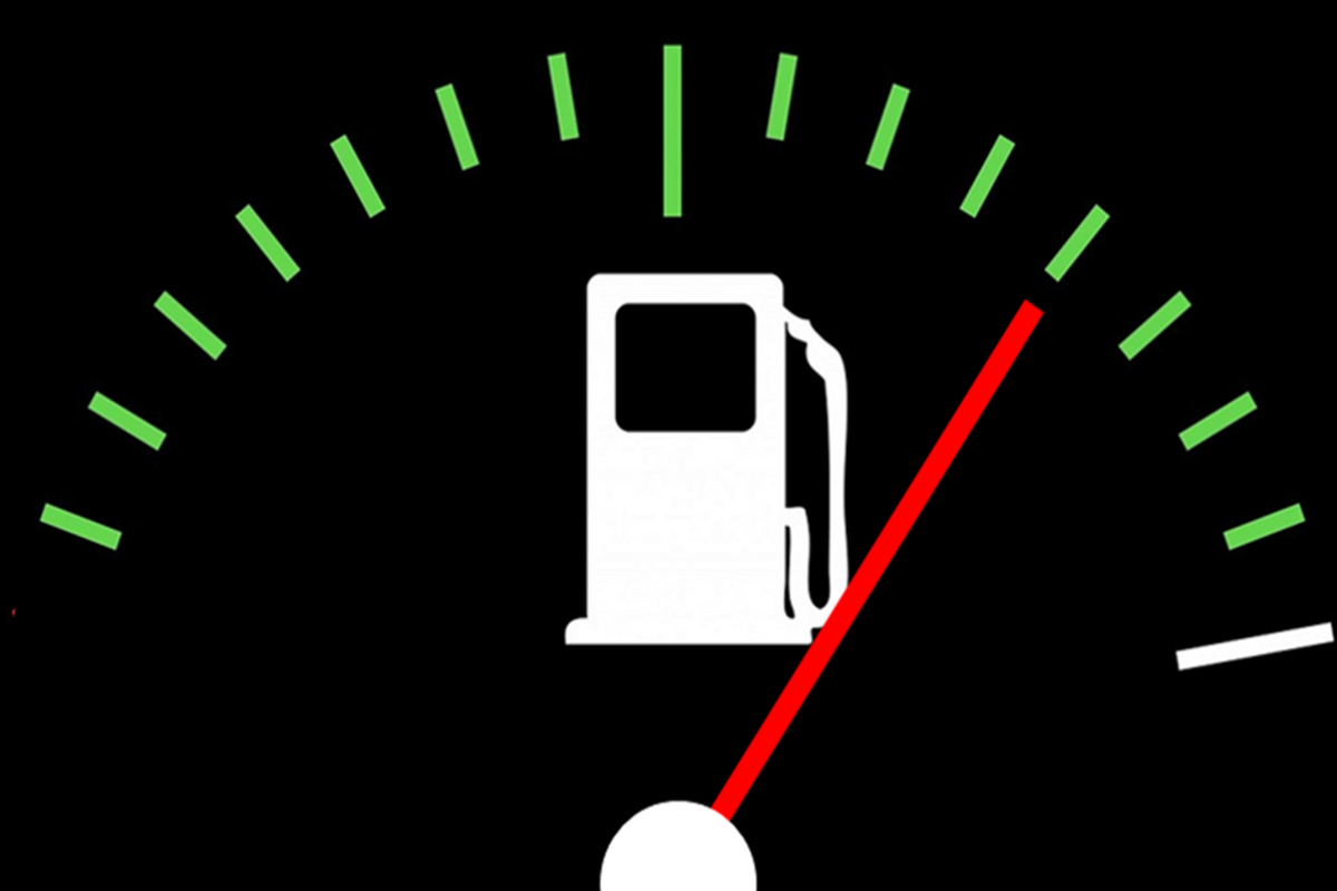 Awesome chart shows you how far you can drive on empty