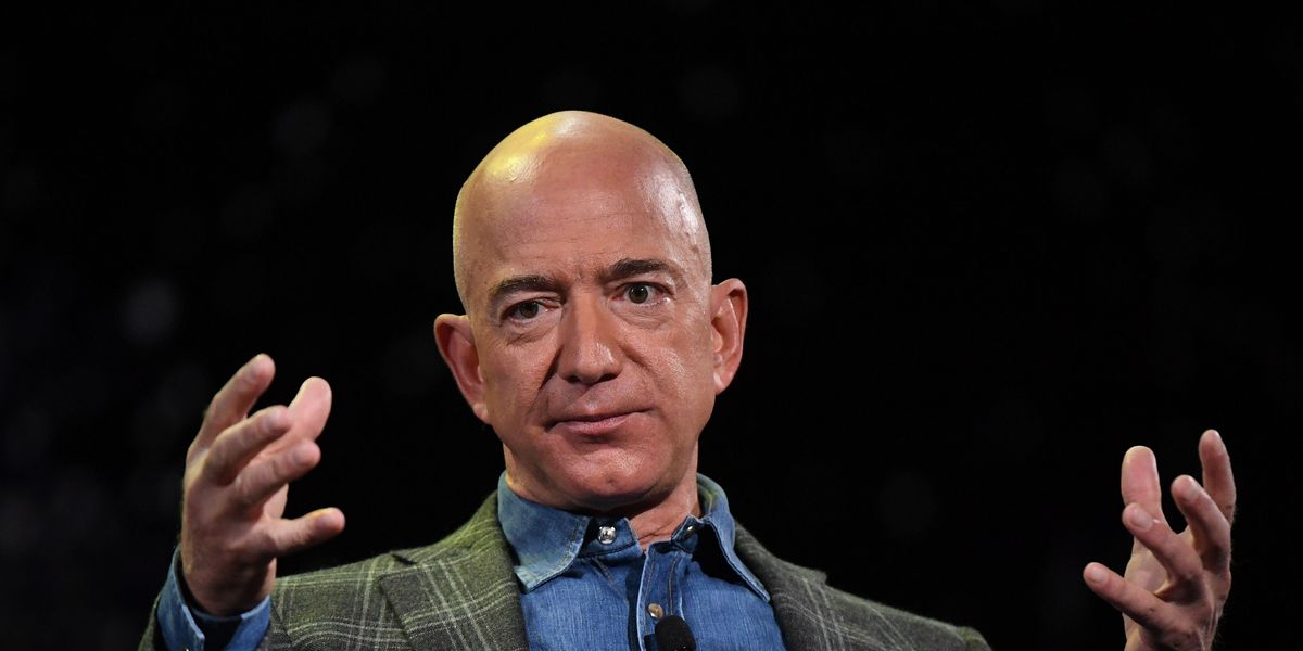 Watch Jeff Bezos' Laugh Go Full Supervillain Over the Years