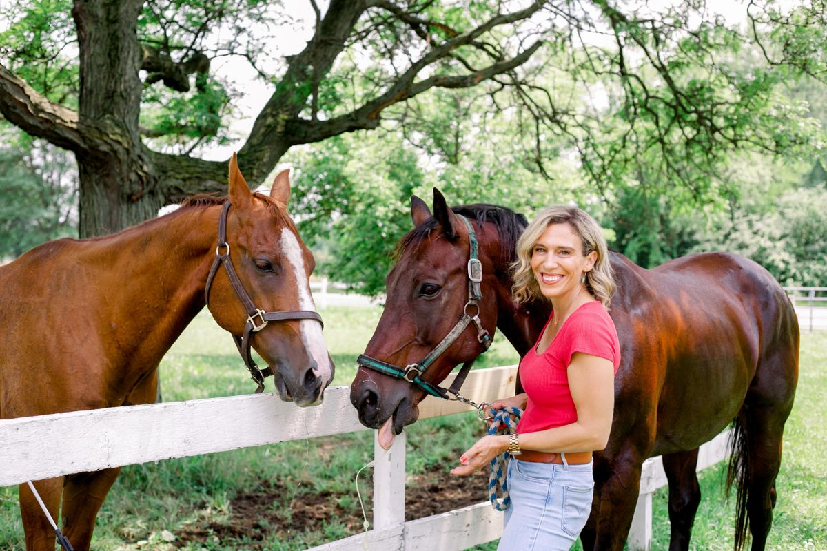After Losing Her Friend To Cancer, This Woman Created a Horse Camp for Pediatric Patients and Their Families.