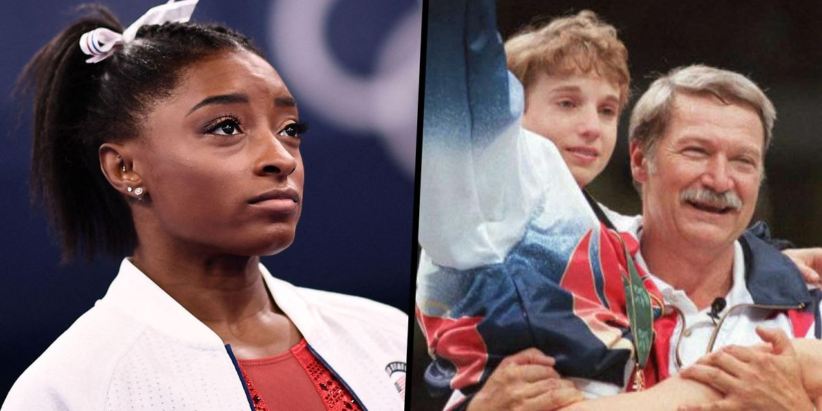 Fans Are Comparing Simone Biles to Kerri Strug at the 1996 Olympics