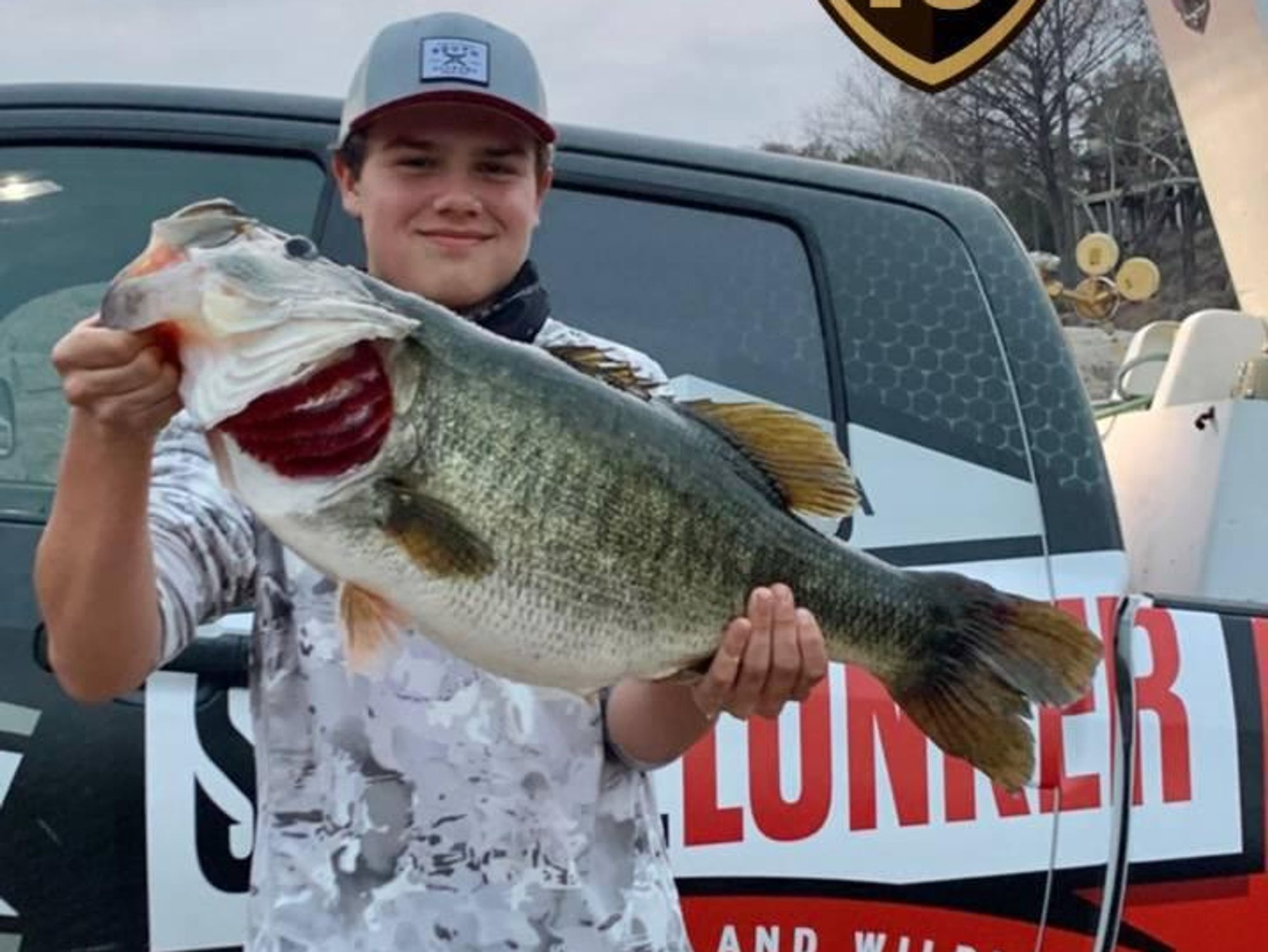 Lake Travis earns 10,000 well-bred bass thanks to record-breaking 15-year-old fisherman