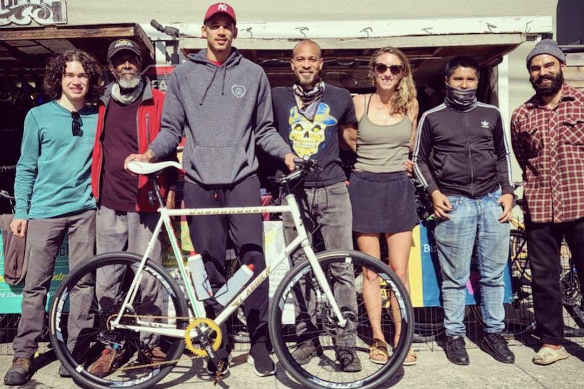 Warriors forward turns to Oakland bike shop for custom wheels + more good news around the Bay